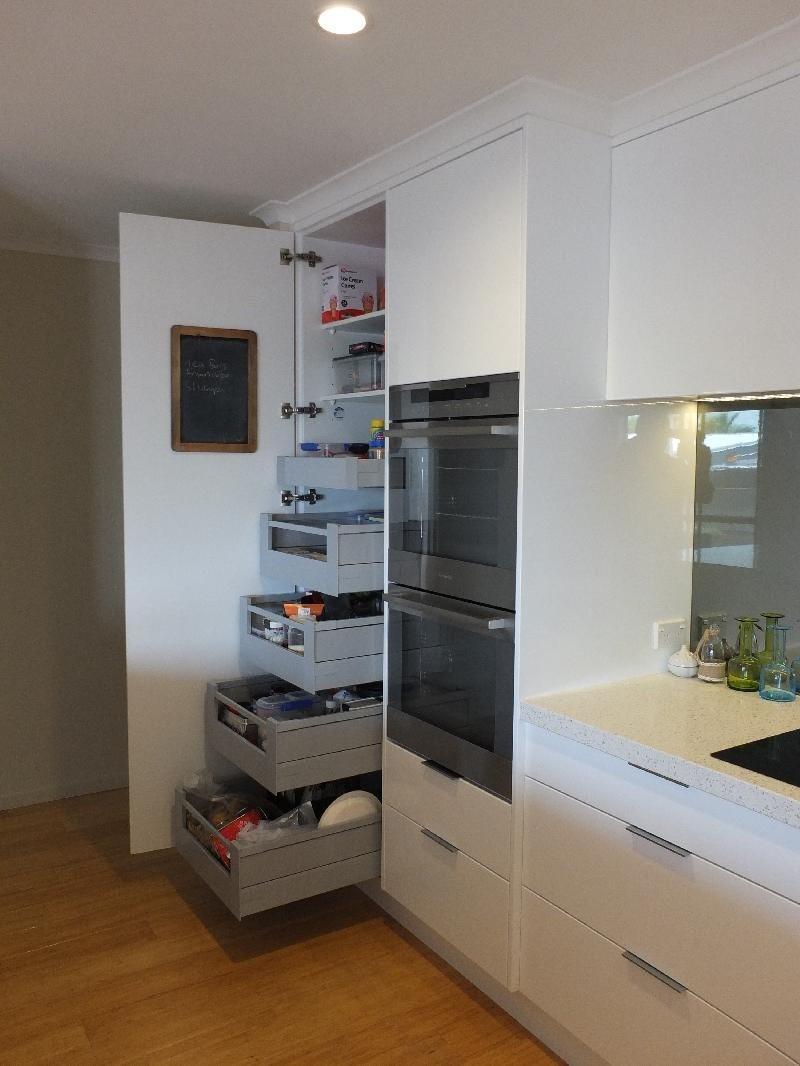Objex Cabinet Makers Ltd Pantry Internal Drawers